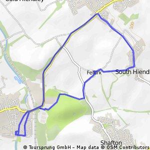 Short ride through Barnsley