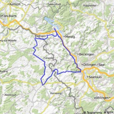 Saargau und Bouzonville v Schwemlingen