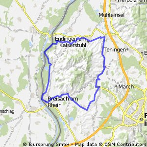 Kaiserstuhl-Radweg
