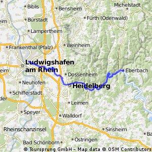 38_Eberbach – Heidelberg – Mannheim