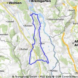 Hermetschwil-Staffeln - Winterschwil - Schoren - Staffeln