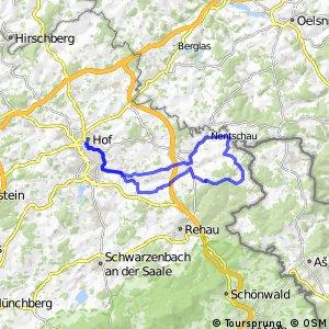 """ADFC-Hof: Tages-Tour """"Rund um Rehau"""""""