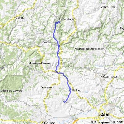 Rundtour Albigeois, 4. Etappe