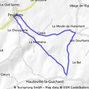 course feugeres
