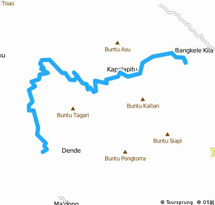 trekking tour from April 26, 08:40