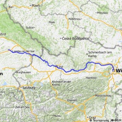 Donauradweg (Großköllnbach - Wien)