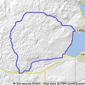 Pine Barrens/Washburn Road Bike Route