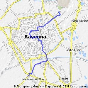 přes Ravenu
