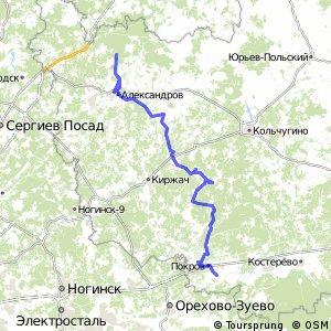 ВелоЗолотКо5.1:Покров-Александров