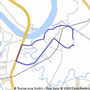 bike tour from อ.บางปะกง to อ.พานทอง