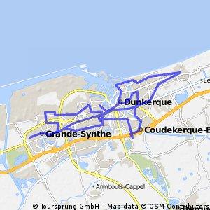 Dunkerque relief
