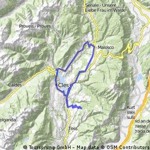 Alta Val di Non e Lago di Santa Giustina
