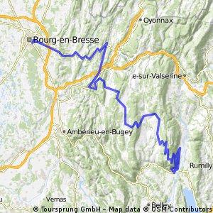 Tour de France 2016 Stage 15: 159 km Bourg-en-Bresse - Culoz