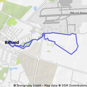 Challenge Billund-Herning Run Course 2016