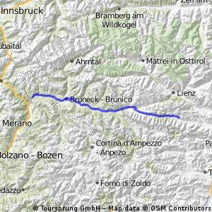 2010/08 7. Etappe Tour Liesing  (Mühlbach-Lesachtal)