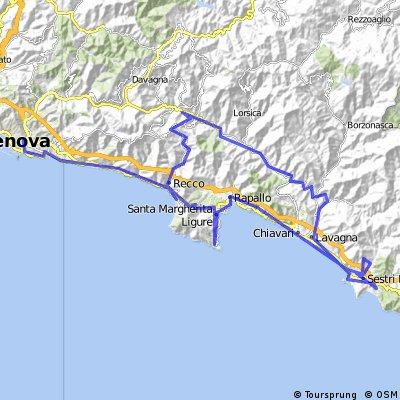 Genova-Sestri Levante-Camogli