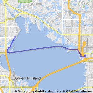 bike tour from Safety Harbor to Tampa