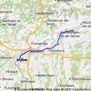 Cycling routes and bike maps in and around Ulm Bikemap Your bike