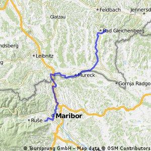 Bad Gleichenberg - Maribor