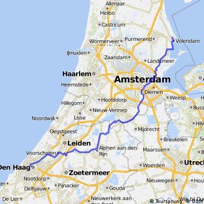 Из Волендама через Амстердам