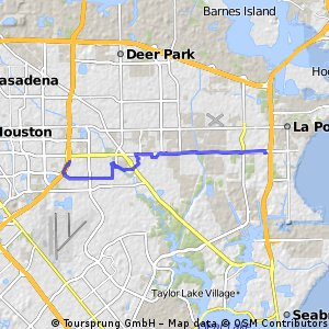 bike tour from La Porte to Pasadena