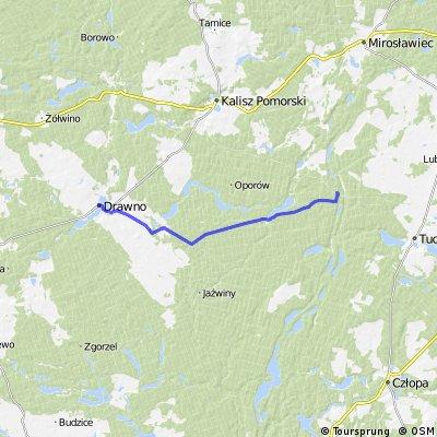 Tour in den Mai: 2.Etappe (Teil 1) Neuwedell - Crampe (23km)