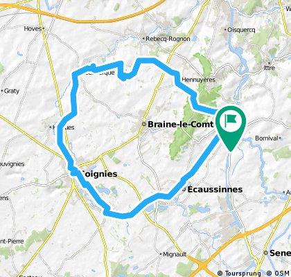 Ronquières-Soignies-Steenkerke-Hennuyères-La Houssière -Ronquières