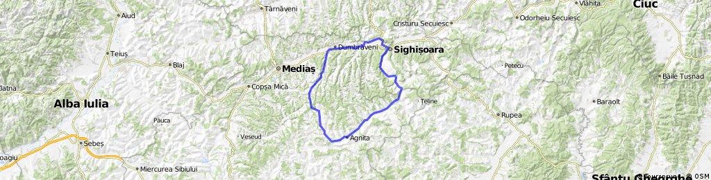 Sighisoara-Biertan-Barghis-Agnita-Bradeni-Apold-Sighisoara