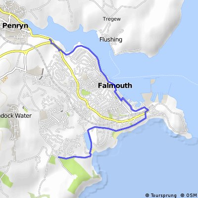 Falmouth to Penryn