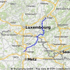 5b Amnéville - Trier