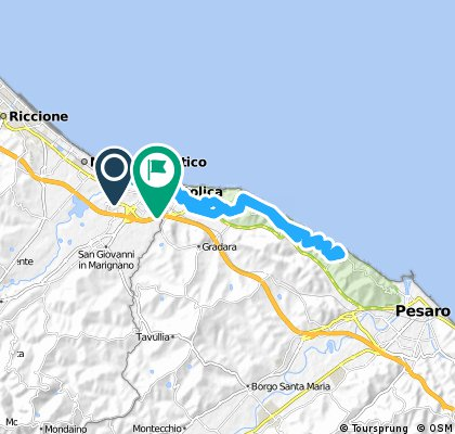 Portoverde - San Bartolo (traccia di Stefano)
