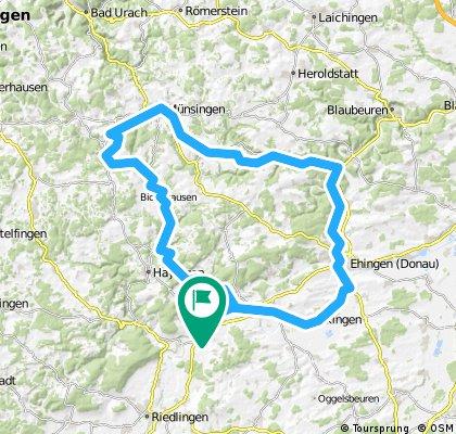 Schmiechtal-Runde 94 km