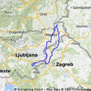 400 km Brevet - Z Dolenjske na Goričko in nazaj