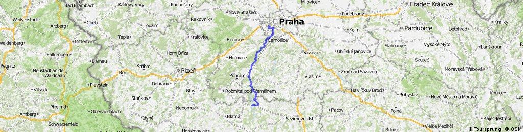 Orlík - Praha