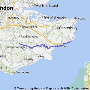 Lamberhurst - Dover