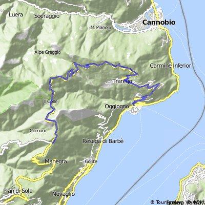 Cannero - Piancavallo und zurück