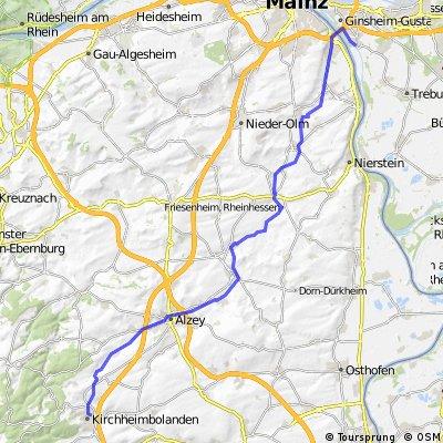 Kirchheimbolanden -Alzey- Ginsheim