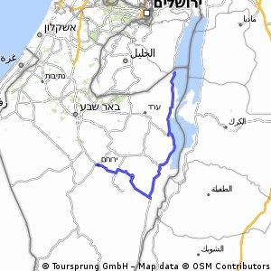 UJIA N2S Israel 2017 Day 3 Peleton A