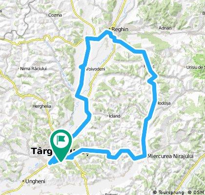 Tura de 105 km- Tg Mures-M Niraj- Reghin- Tg Mures
