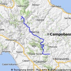 Giro 16, stage 6 Ponte - Roccaraso