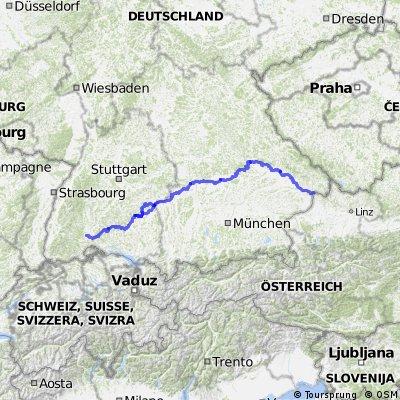 Donaueschingen - Beuron