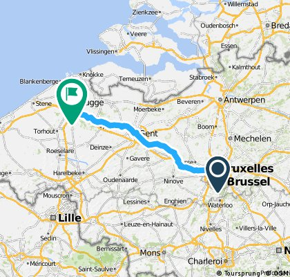 Gent to Brugge
