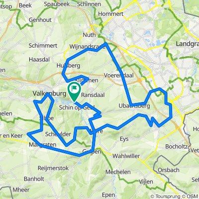 Zuid-Limburg - Schin op Geul route 3 (70,8 km)