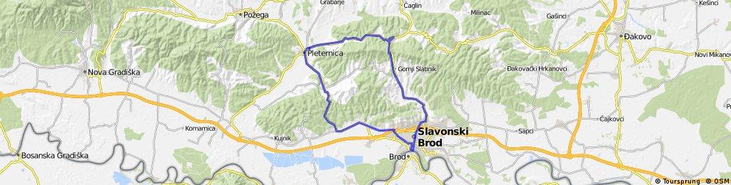 Pleternica Buk Djedinja Rijeka Ruševo Slavonski Brod Grižići Pleternica