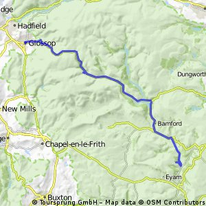 Route for marshal on St William Hill Road