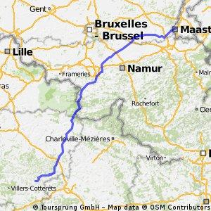 Maastricht - Cerseuil (No Ardn Nat Park, 1240hm)