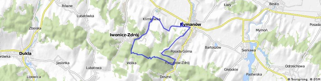 Rymanów-kalwaria-mogiła-sucha góra-klimkówka-łysa góra-pustki-rymanów