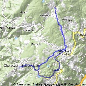 03.05.16 Oberbozen - Talstation Rittner Horn