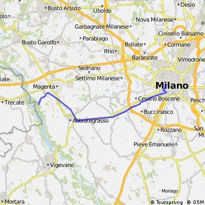 Milano Cadorna - Abbiategrasso - La Fagiana