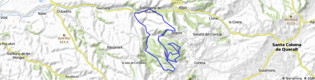 BTT Vall del Corb - circuit curt 2016